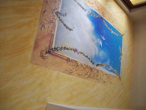 Вътрешна мазилка с декоративени ефекти